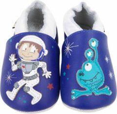 Blauwe Lait et Miel - Babysloffen - Leer - 6-12 maanden - Astronaut
