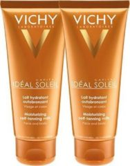 Vichy Idéal Soleil Vichy Ideal Soleil Zelfbruinende Melk Gezicht en Lichaam - 2x100ml