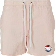 FitProWear Heren Zwembroek DUTCH - Lichtroze - Maat XL - Swimshort - Zwembroek - Zwemshort - Heren Zwembroek - Zwemkleding - Zwemmen - Strandkleding - Short