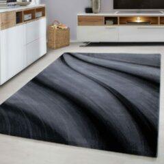 Ayyildiz / Carpetwinkel.nl Miami - Vloerkleed - Zwart - 80 x 150 cm