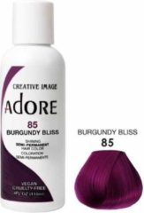 Bordeauxrode Adore Shining Semi Permanent Hair Color Burgundy Bliss-85