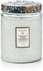 Groene Voluspa Japonica French Cade & Lavender geurkaars