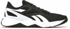 Reebok Nanoflex Sportschoenen Zwart/Wit Heren