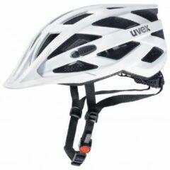 Witte UVEX I-VO CC Fietshelm, white mat Hoofdomtrek 52-57cm