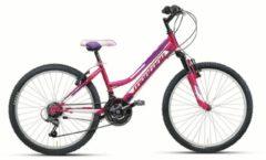 24 Zoll Mädchen Mountainbike 18 Gang Montana Escape Starrgabel Wham lila