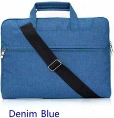 H.K. Laptop tas Lichtblauw geschikt voor 13-14 inch