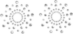 Zilveren Bijoux Indiscrets Borstversieringen Mimi zilverkleurig