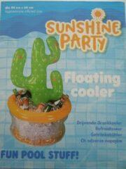 Groene Sunshine Party opblaasbare minibar inclusief reparatiekit