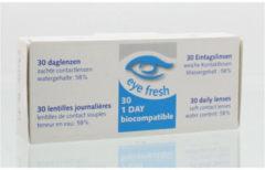 Eye Fresh Eyefresh Daglenzen -4.00 1x30 Stuks