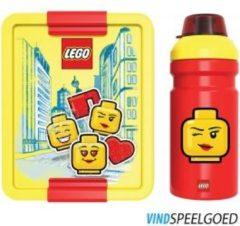 Rode LEGO 40581725 Lunch Set Iconic Meisje