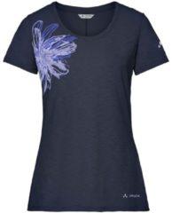 T-Shirt Skomer Print II mit Spandex-Anteil 40887-750 Vaude eclipse