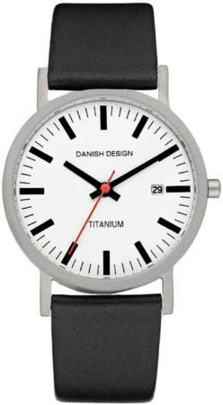 Afbeelding van Zwarte Danish Design Titanium IQ24Q199 - Horloge