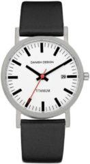 Zwarte Danish Design Titanium IQ24Q199 - Horloge