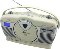 Sound Master Soundmaster RCD1350BE Retro Radio met CD Speler en USB/SD Aansluiting