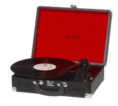 Zwarte Denver VPL-120 - Platenspeler - In Opbergkoffer - Met USB en ingebouwde speakers