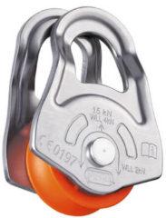 Petzl - Oscillante - Haspel voor touw grijs/oranje