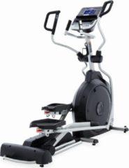 Grijze Spirit Fitness Crosstrainer XE395 Elliptical - Professioneel Fitnesapparaat / Fitnesstoestel / Fitnessmachine - incl. Gratis Borstband - Nieuwste Model 2020 - Uitstekende Garantie - Geschikt voor Beginnende & Ervaren Sporters