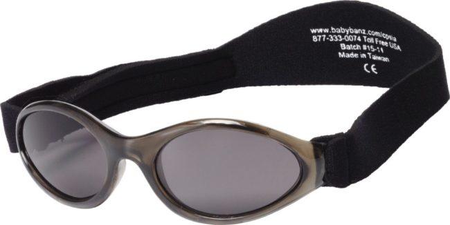 Afbeelding van Zwarte Baby Banz KidsBanz UV zonnebril Kinderen - zwart - Maat 2-5 jaar