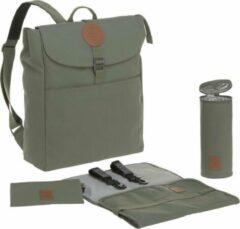 Lässig - Luiertas Adventure Backpack - Olijfgroen