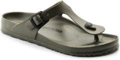Kaki Birkenstock Gizeh Unisex Slippers Regular fit - Khaki - Maat 41