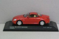 Lexus SC430 Cabriolet 2001- 1:43 - Minichamps