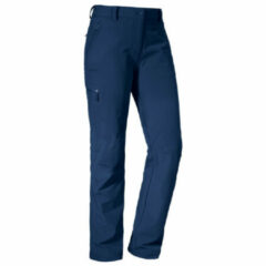 Schöffel - Women's Pants Ascona - Trekkingbroek maat 38 - Regular, blauw