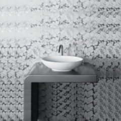 Crosstone by Arcqua Crosstone Loeffi ll solid surface waskom mat wit 57*34*14 CTWL3021