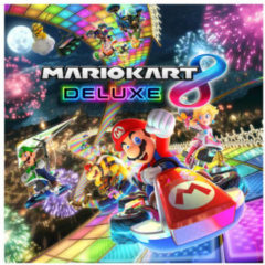 Rode Nintendo Mario Kart Deluxe game - Nintendo Switch