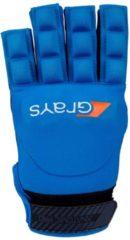 Donkerblauwe Grays Anatomic Pro Hockeyhandschoen - Hockeyhandschoenen - blauw donker - XXS