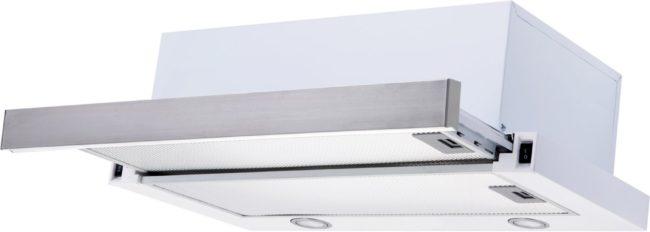 Afbeelding van Exquisit FSH61 afzuigkap 500 m³/uur Onderbouw Grijs, Metallic, Wit