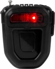 Hiplok - FLX Wearable Retractable Combi Lock incl. Light - Fietsslot maat 1 m, zwart