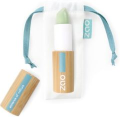 Groene ZAO essence of nature ZAO Bamboe Concealer stick 499 (Green Anti Red Patches)