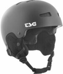 TSG - Gravity Solid Color - Skihelm maat L/XL, zwart/grijs