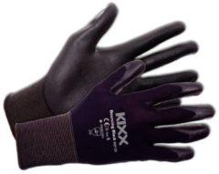 Zwarte Kixx Handschoenen Kixx Tuinhandschoenen - Bouncing Black - Maat 8