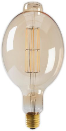 Afbeelding van Calex Holland Calex Giant Colosseum LED filament goud 11W (vervangt 100W) extra grote fitting E40