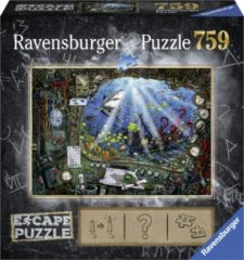 Ravensburger Escape 4 de Onderzeeër Puzzel 759 stukjes