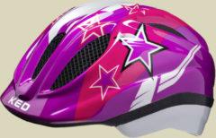 KED Meggy Kinder Fahrradhelm Kopfumfang XS 44-49 violet stars