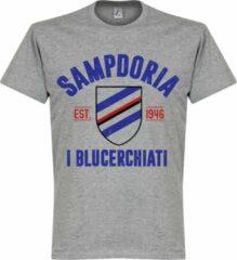 Retake Sampdoria Established T-Shirt - Grijs - M
