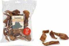 Bruine Deli Snacks DeliSnacks varkensoorstukjes voordeelverpakking