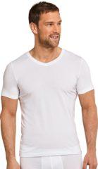 Witte Schiesser Long Life Soft Heren Ondershirt - Wit - Maat S