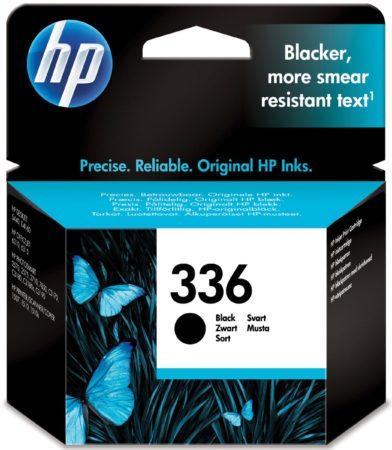 Afbeelding van HP inktcartridge 336, 210 pagina's, OEM C9362EE#301, zwart, met beveiligingssysteem