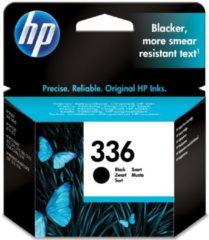 HP inktcartridge 336, 210 pagina's, OEM C9362EE#301, zwart, met beveiligingssysteem