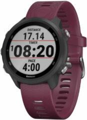 Donkerrode Garmin Forerunner 245 hardloophorloge met gps - Horloges
