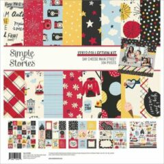 "Simple Stories Say Cheese Main Street Collection Kit 12""X12"" (SCM14200)"