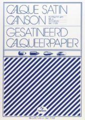 Canson kalkpapier formaat 297 x 42 cm (A3) etui van 10 blad