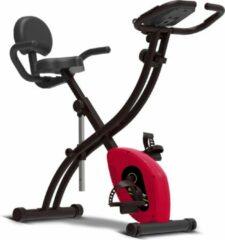 TurboTronic SportTronic ST-X6 opvouwbare hometrainer rood/zwart