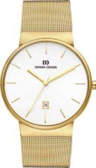Danish Design IQ05Q971 quartz goud - edelstaal (Milanees) band 5 ATM (douchen)