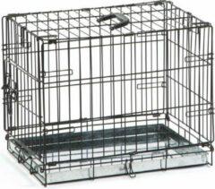 Beeztees Hondenbench 1 deurs zwart 49 X 36 X 40 cm