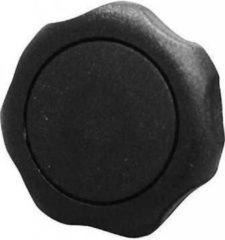 STARX Sterknop nylon met bus m10 63mm zwart