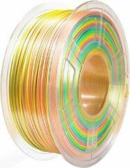 SUNLU SILK filament 1.75mm 1kg Regenboog B